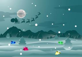 Christmas backround vecteur gratuit