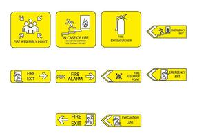 Gratis Emergency Sign Icon Vector