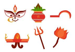 Navratri Vector Set