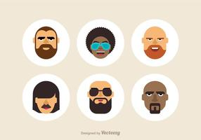 Free Cool Male Vector Avatars