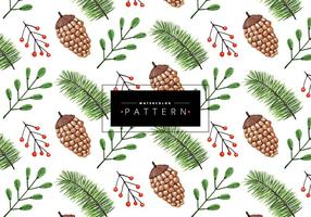 Vector-pine-christmas-pattern