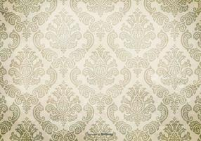 Grunge Damask Background vector