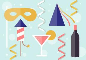 Free New Year Elements Vector