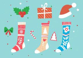 Christmas-vector-stockings