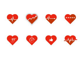 Free Heart Rate Vector