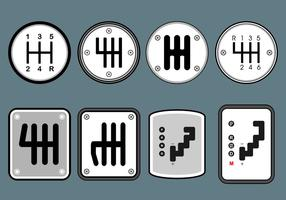 Gear Shift Free Vector