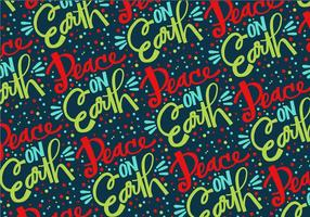 Peace On Earth Repeat Pattern