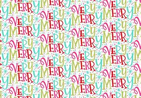 Zeer Merry Christmas Repeating Pattern