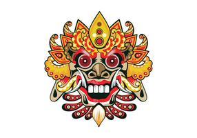 Decoratieve Barong Vector