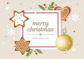Free Christmas Vector Hintergrund