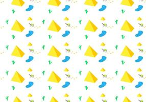 Free Piramide Seamless Pattern Vector Illustration