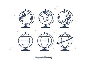 Globus Vektor Icons