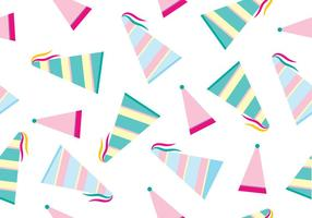 Party Hat Vector Patroon