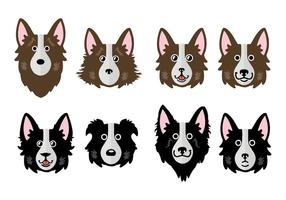 Free Border Collie Vector Illustration