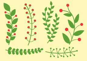 Vector de plantas grátis
