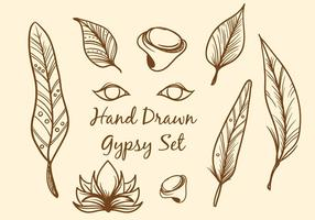 Free Hand Drawn Boho Vector