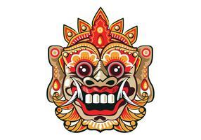 Bright Barong Mask
