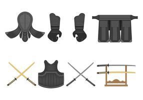 Kendo Vector Pictogrammen