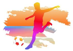 Sport de football de plage