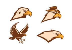 Vector libre del halcón
