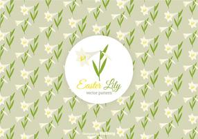 Free-easter-lily-vector-pattern