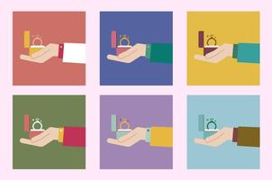 Marriage Proposal Hand Icon Collection