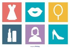 Women Stuff Icon Collection