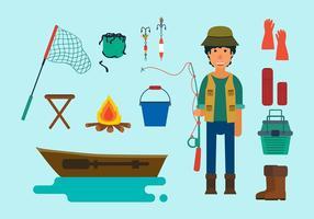 Vector libre de la pesca