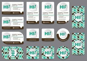 Communication-name-card-templates