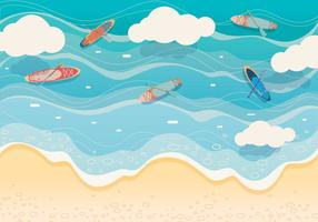 Paddle Background Vector