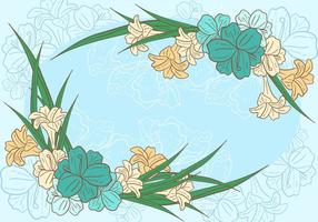 Osterlilien Hintergrund