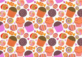 Free Free Sweets Pattern Vectors