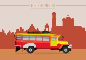 Illustrazione di Jeepney Filippine