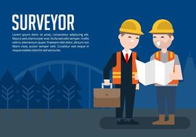 Surveyor Background vector