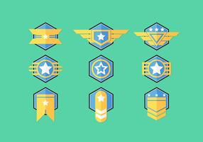 Brigadier Badge Vector Sets