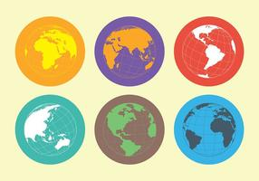 Free Globus Icons Vector