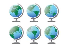Gratis Globus Ikoner Vector