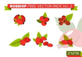 Rosehip Free Vector Pack Vol. 2