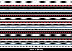 Líneas geométricas Vector de fondo