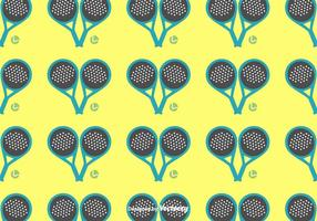 Padel patroon vector