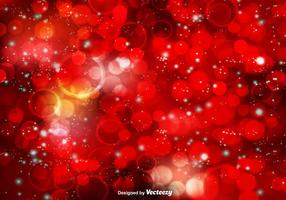 Red Bokeh Vector Background