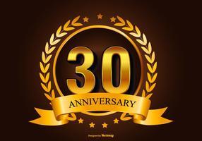 Illustration du 30e anniversaire