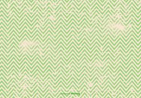 Green Grunge Chevron Background vector