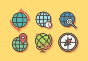 Vetor globo livre
