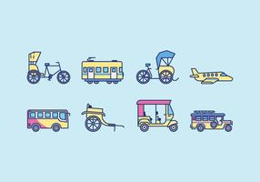 Free Public Transportation Vector