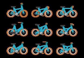 Bicicleta vettoriale