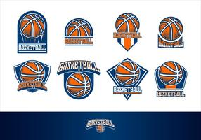 Basketbal Logo Gratis Vector