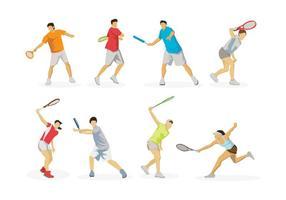 Kostenloser Tennis-Vektor