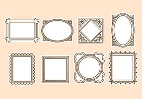 Gratis Vintage Frame Vector