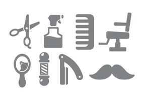 Kapper Winkel Icon Vector